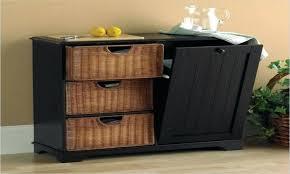Kitchen Cupboard Garbage Bins by Trash Cans Small Kitchen Island With Trash Bin Medium Size Of