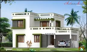 style home designs architecture kerala 3 bhk new modern style kerala home design in