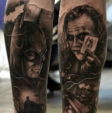 batman and joker tattoos 1 tattoo ideas 2016 2017
