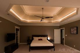 crown molding lighting tray ceiling inspiring trayceilingdesignideas family room and master bedroom had