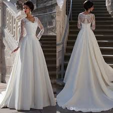hire wedding dress discount 2017 sleeves lace wedding dresses a line v neck