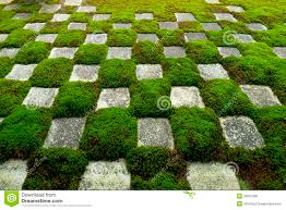 Famous Gardens Famous Stone And Moss Garden Royalty Free Stock Photos Image