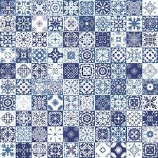 seamless patchwork pattern from colorful moroccan tiles ornaments