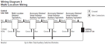wiring diagram for 4 way switch with dimmer circuit and