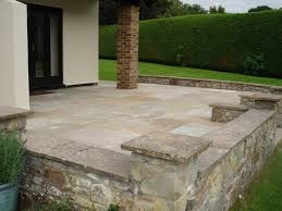 Indian Sandstone Patio by Patio And Driveway Ross On Wye
