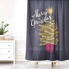 Snowflake Curtains Christmas Buy Christmas Shower Curtain From Bed Bath U0026 Beyond