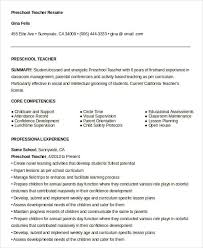 Sample Nanny Resume by Free Resume Lesson Plans