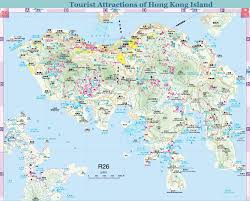 New York Tourist Attractions Map by Hong Kong Map
