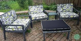 cushions for patio furniture custom made patio furniture cushions
