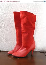 red women u0027s tall dress boot 10 red leather boots tall red