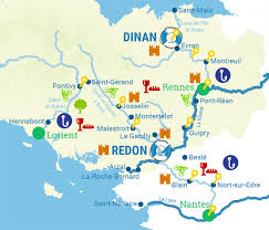 Brittany France Map Canal Yacht Boat Rental Houseboat Hire France Brittany
