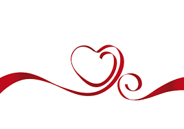 heart ribbon heartshaped vector ribbon free vector 4vector