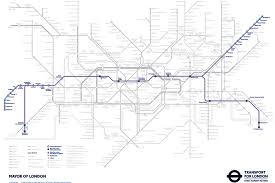 London Subway Map by How The Tube Map Will Look When The Elizabeth Line Is Included On