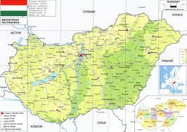 World Map Hungary by Hungary