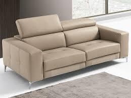 franco leather sofa recliner sofa faenza by franco ferri italia
