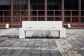 Bench Photography Concrete Bench With Nobody Around Royalty Free Stock Photography