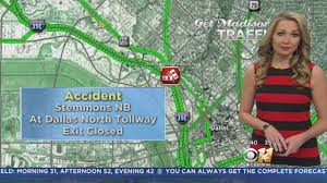Traffic Map Dallas by Traffic Deadly Accident Closes Part Of Central Expressway Cbs