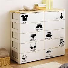 dsu removable home decor wall sticker locker bedroom chest sticker