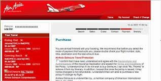 booking online air asia