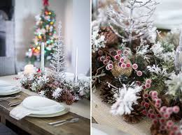 christmas table decorations table decorations rustic christmas decor
