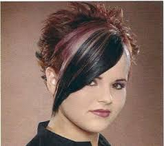 crown spiked hair styles pictures of spiked haircuts for women spiked back long front