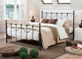 Decorative Metal Bed Frame Queen Iron Platform Bed Queen Unique And Strong Iron Platform Bed For