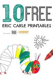 10 simple eric carle activities for toddlers eric carle hungry