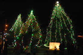 wonderland tree lighting ring in season at fort leonard wood