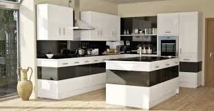 White And Black Kitchen Designs by Interior Design Cool Iced Light Blue Kitchen For Comfort Kitchen