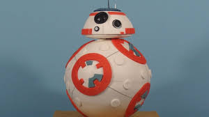 starwars cakes exclusive how cake bakery created the wars bb 8 droid