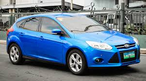 ford focus philippines file pre facelift blue ford focus in the philippines jpg