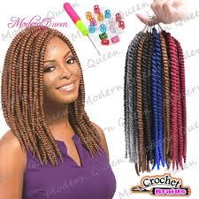 crochet hair braiders in northern va medium size crochet braid hair 12 65g 16roots kanekalon havana