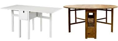 Gateleg Table Ikea Best Drop Leaf U0026amp Gateleg Tables 2012 Apartment Therapy