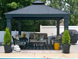 Patio Gazebos Gazebo Contemporary Patio Other