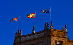Barcelona Spain Flag Homage To Barcelona Don North