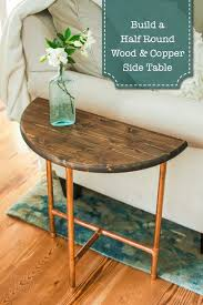 Wood Plans For Bedside Table by Best 25 Round Side Table Ideas On Pinterest Shanty Chic Chic 2
