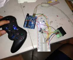 control anything with ps2 controller and arduino wirelessly 6 steps