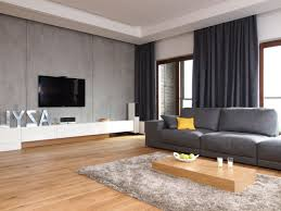Gray Living Room Lamps Slate Grey Living Room Colorful Cushions Black Rug Soft Tesca Sofa