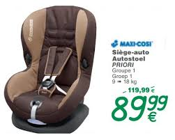 siege auto 9 18 kg cora promotion siège auto autostoel priori maxi cosi siège