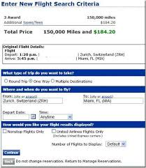 united airlines ticket change fee how to modify united award ticket for free points miles martinis