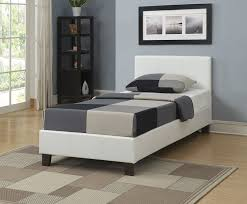 birlea berlin bed faux leather white single amazon co uk