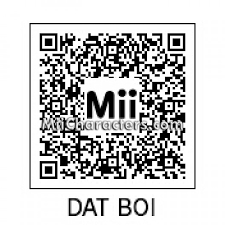 Meme Qr Code - miicharacters com miicharacters com mii details for dat boi