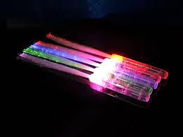 led light up toys wholesale 10pcs lot 3leds glowing fiber optic stick led magic wand toys light