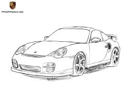 car drawing porsche 911 drawing by revolut3 on deviantart