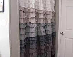 Shower Curtain Contemporary Shower Ruffle Shower Curtains Wonderful Childrens Shower