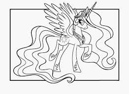 Coloriage Licorne Imprimer Gratuit Of Coloriage Licorne Princesse