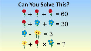 adults stumped by question for kids in china flower algebra