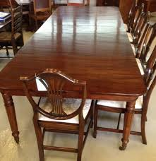 antique dining table with pull out leaves late georgian pull out