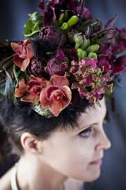 floral headpiece 27 best botanical couture headpieces images on