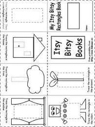 rectangle itsy bitsy book pre ideas pinterest book
